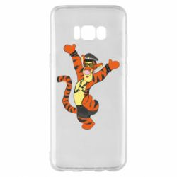 Чехол для Samsung S8+ Тигра темный властелин