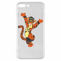 Чехол для iPhone 8 Plus Тигра темный властелин