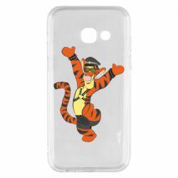 Чехол для Samsung A3 2017 Тигра темный властелин