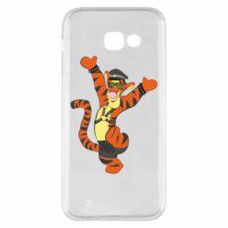 Чехол для Samsung A5 2017 Тигра темный властелин