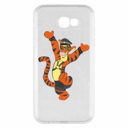 Чехол для Samsung A7 2017 Тигра темный властелин