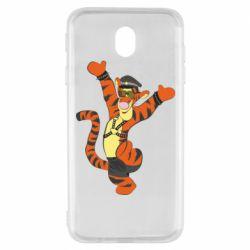 Чехол для Samsung J7 2017 Тигра темный властелин