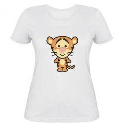 Жіноча футболка тигрюля - FatLine