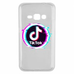 Чохол для Samsung J1 2016 Tik tock glitch ring