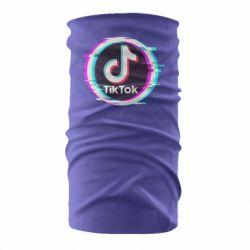 Бандана-труба Tik tock glitch ring