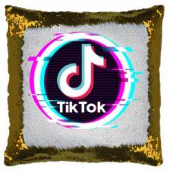 Подушка-хамелеон Tik tock glitch ring