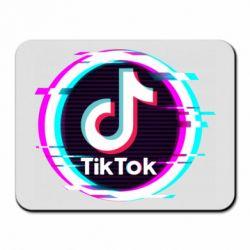Килимок для миші Tik tock glitch ring