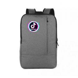Рюкзак для ноутбука Tik tock glitch ring