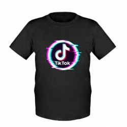Дитяча футболка Tik tock glitch ring