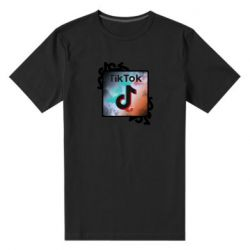 Чоловіча стрейчева футболка Tik Tok art