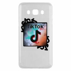 Чохол для Samsung J5 2016 Tik Tok art