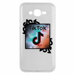 Чохол для Samsung J7 2015 Tik Tok art