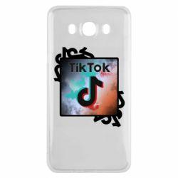 Чохол для Samsung J7 2016 Tik Tok art