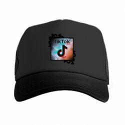 Кепка-тракер Tik Tok art