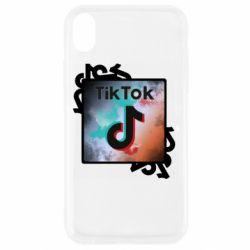 Чохол для iPhone XR Tik Tok art
