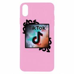 Чохол для iPhone Xs Max Tik Tok art