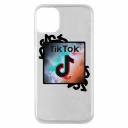 Чохол для iPhone 11 Pro Tik Tok art