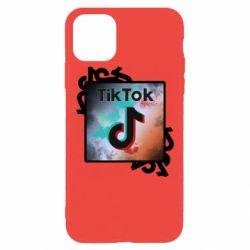 Чохол для iPhone 11 Pro Max Tik Tok art
