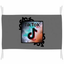 Прапор Tik Tok art