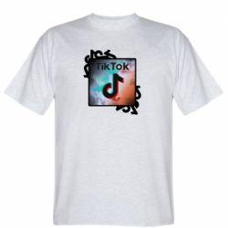 Чоловіча футболка Tik Tok art
