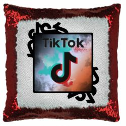 Подушка-хамелеон Tik Tok art