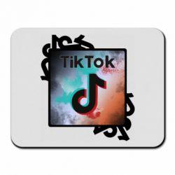 Килимок для миші Tik Tok art