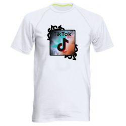 Чоловіча спортивна футболка Tik Tok art