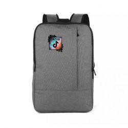 Рюкзак для ноутбука Tik Tok art