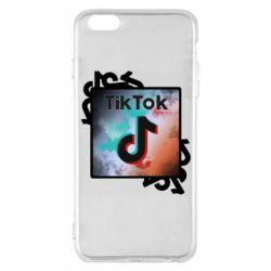 Чохол для iPhone 6 Plus/6S Plus Tik Tok art