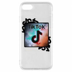 Чохол для iPhone 7 Tik Tok art