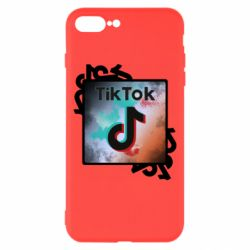 Чохол для iPhone 8 Plus Tik Tok art