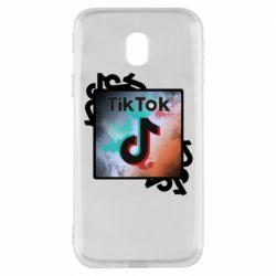 Чохол для Samsung J3 2017 Tik Tok art