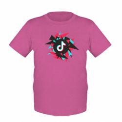 Дитяча футболка Tik tok vector