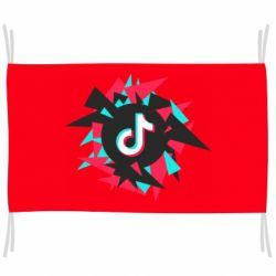 Прапор Tik tok vector