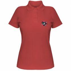 Жіноча футболка поло Tik tok vector