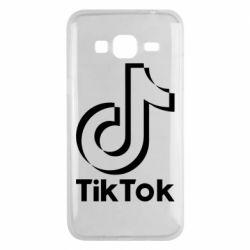 Чохол для Samsung J3 2016 Тик Ток