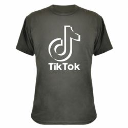 Камуфляжна футболка Тик Ток