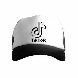 Дитяча кепка-тракер Тик Ток