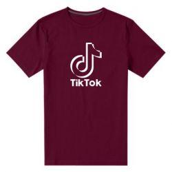 Чоловіча стрейчева футболка Тик Ток