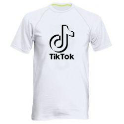 Чоловіча спортивна футболка Тик Ток