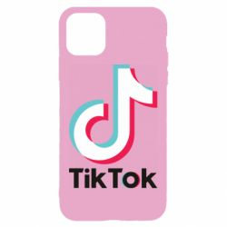 Чехол для iPhone 11 Tiktok logo