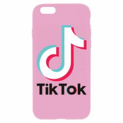 Чехол для iPhone 6 Plus/6S Plus Tiktok logo