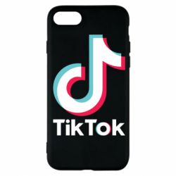 Чехол для iPhone 7 Tiktok logo