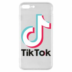 Чехол для iPhone 7 Plus Tiktok logo