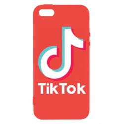 Чехол для iPhone5/5S/SE Tiktok logo