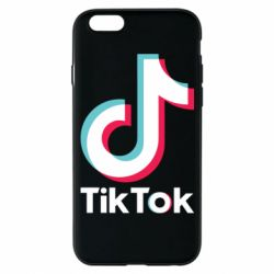Чехол для iPhone 6/6S Tiktok logo