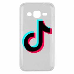 Чохол для Samsung J2 2015 TikTok sign