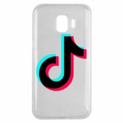 Чохол для Samsung J2 2018 TikTok sign
