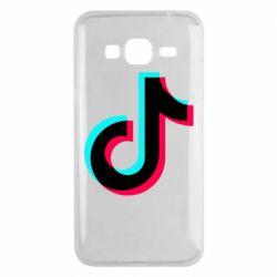Чохол для Samsung J3 2016 TikTok sign