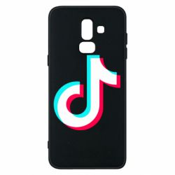Чохол для Samsung J8 2018 TikTok sign
